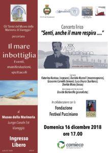 Mese Pucciniano concerto Museo Marineria Viareggio