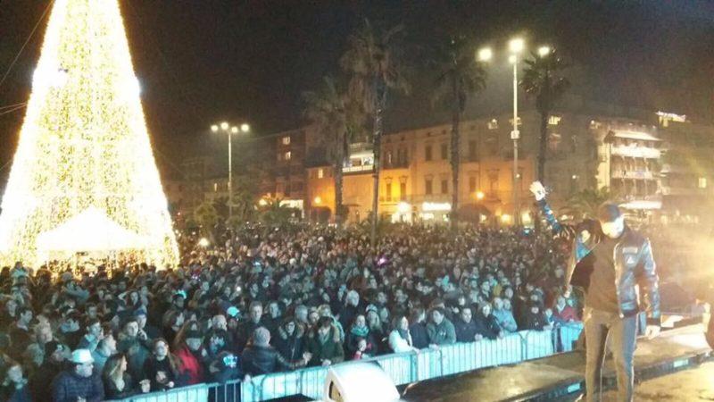 San Silvestro 2018 piazza Mazzini Viareggio