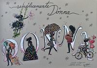 DE LEO S.a.s Semplicemente donna mascherata Carnevale di VIAREGGIO 2019