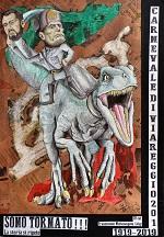 FRANCESCONI Michelangelo Sono tornato!!! maschera Carnevale di Viareggio 2019