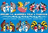 MARSILI Giacomo Prendi la maschera vieni a Viareggio mascherata Carnevale di Viareggio 2019