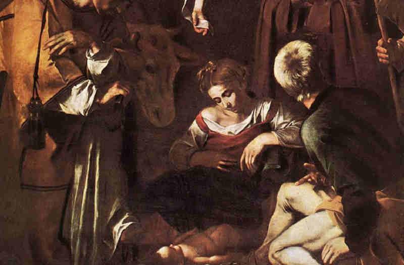 caravaggio nativita santi lorenzo e francesco