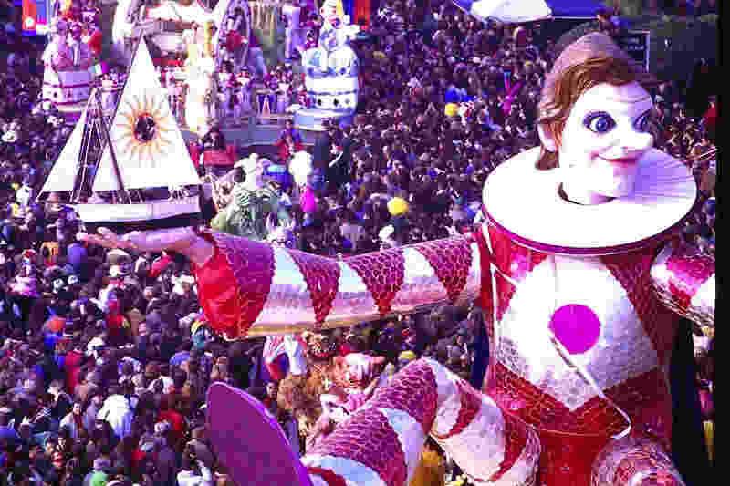 carnevale viareggio mascherate