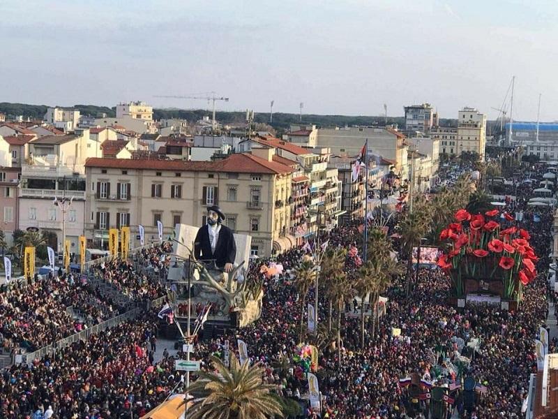 Carnevale di Viareggio 2019 - sabato 9 febbraio 1 corso mascherato