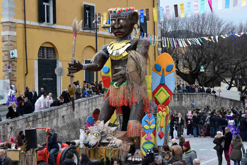 Carnevale pietrasanta Africa - Macelli
