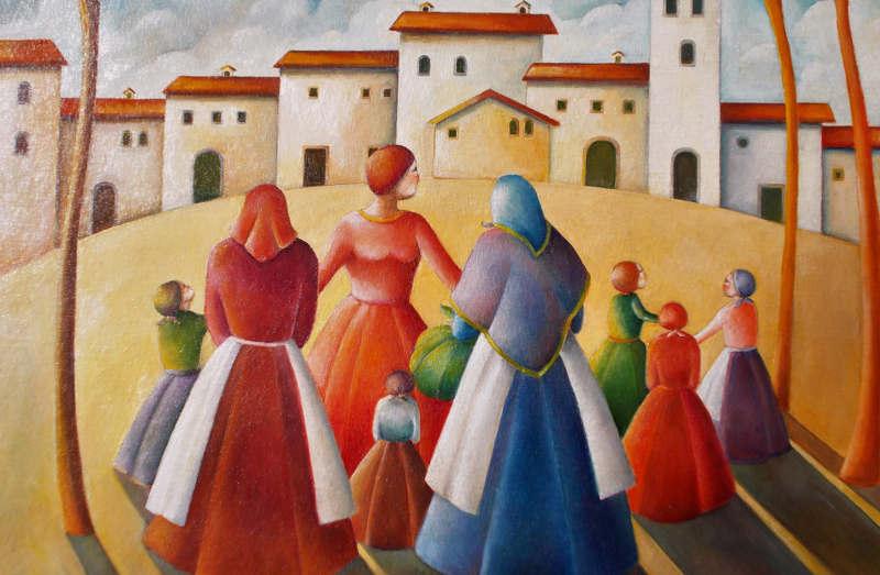 Dal 4 gennaio al 6 marzo all'Hotel Esplanade di Viareggio, mostra di pittura di Maurizia-Cardoni-e-Tito-Mucci